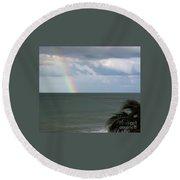 Florida - Beach - Rainbow Round Beach Towel