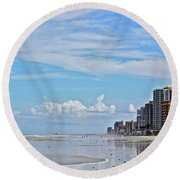 Florida Fun Round Beach Towel