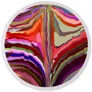 Flourish Again Round Beach Towel