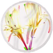 Flower 9315 Round Beach Towel