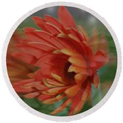 Flower Dreams Round Beach Towel