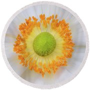 Flower Round Beach Towel