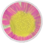 Flower Power. Round Beach Towel