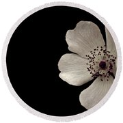 Flower1 Round Beach Towel