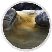 Flowing Rock 4 Round Beach Towel