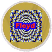 Floyd Round Beach Towel