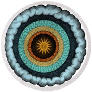 Fludds Cosmic Realms, 1617 Round Beach Towel