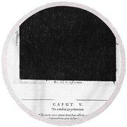 Fludds Dark Universe, 1617 Round Beach Towel