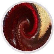 Flushed Round Beach Towel