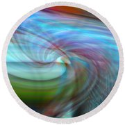 Fly By Night Round Beach Towel