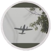Fly Home Round Beach Towel