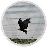 Fly Like An Eagle Round Beach Towel