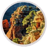 Flying Buttress 06-045 Round Beach Towel
