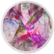 Flyleaves Architecture  Id 16098-035449-63591 Round Beach Towel
