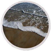 Foamy Water Round Beach Towel