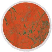 Focus Of Attention 43 Round Beach Towel
