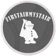 Foerstermeister - Easy Learning German Language Round Beach Towel