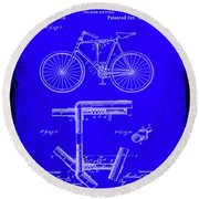 Folding Bycycle Patent Drawing 1h Round Beach Towel