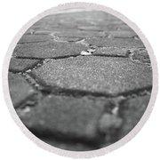 Follow The Brick Road Round Beach Towel
