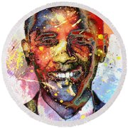 For A Colored World Round Beach Towel