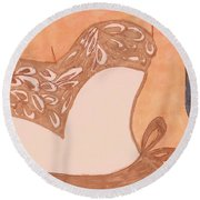 For A Wedding In May Or June Round Beach Towel