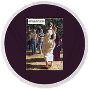 For Adults Round Beach Towel
