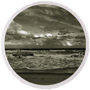 For Ever And Ever Round Beach Towel