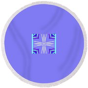 For Luci Round Beach Towel