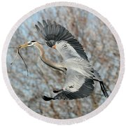 For The Nest Too Round Beach Towel