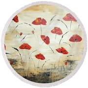 For You Round Beach Towel