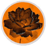 Forced Into Shape Round Beach Towel