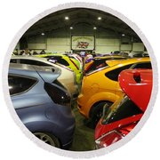 Ford Colours Round Beach Towel