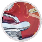 Ford Crestline Round Beach Towel