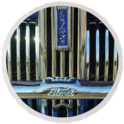 Ford Deluxe Grille Round Beach Towel
