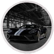 Ford Gt '66 Heritage Edition Round Beach Towel