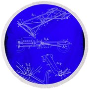Ford Motor Vehicle Drawing 1d Round Beach Towel