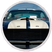 Ford Mustang 2 Round Beach Towel