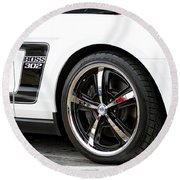 Ford Mustang Boss 302 Round Beach Towel
