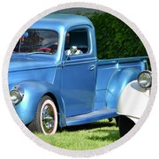 Ford Pickups Round Beach Towel