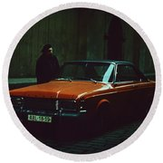 Ford Taunus 20m Rs Coupe Round Beach Towel
