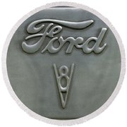 Ford 23 Round Beach Towel