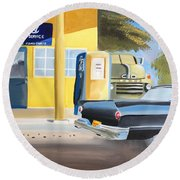 Fords Only  Round Beach Towel