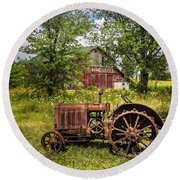 Forefathers Round Beach Towel