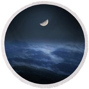 Forest Clam Round Beach Towel