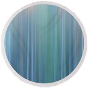 Forest Illusions- Pastels Round Beach Towel