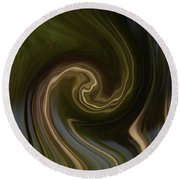 Forest Illusions-whispers On The Wind Round Beach Towel