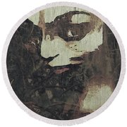 Forest Orphan Round Beach Towel