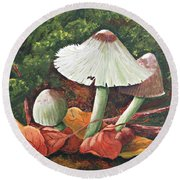 Forest Wonders Round Beach Towel