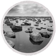 Forever Rocks Round Beach Towel