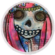 Forever With You Round Beach Towel